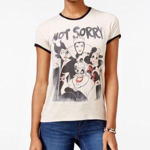 "Disney Villains ""Not Sorry"" T-shirt"